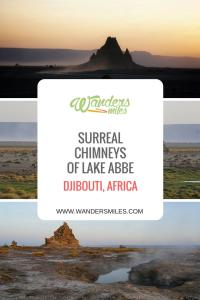 WandersMiles Travel Blog about Chimneys at Lake Abbe in Djibouti, Africa