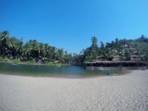 Kayaking at Cola beach