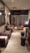 Soothing decor at the InBalance spa