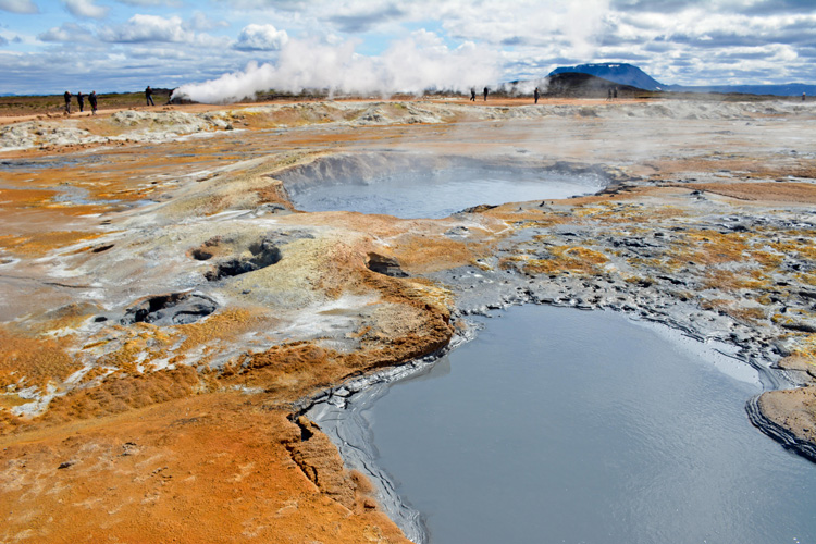 Image of Hverarond geothermal area in Iceland