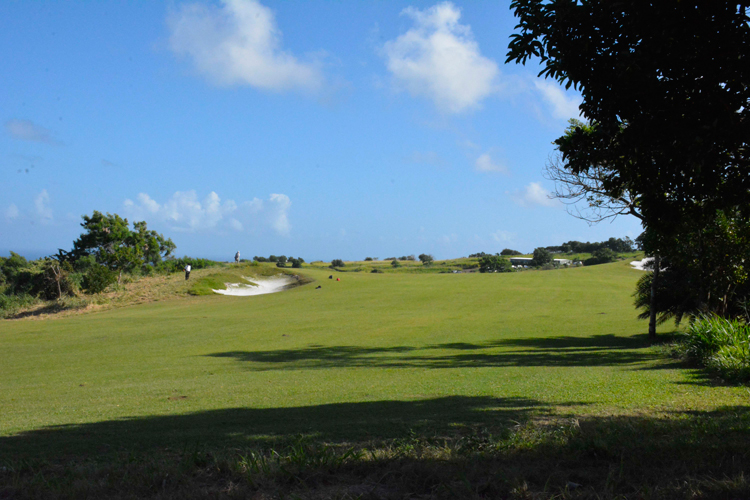 An image of Irie Fields edible golf course on St. Kitts