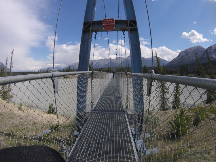 Image of Suspension Bridge over North Saskatchewan River