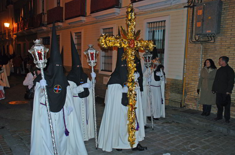 An image of a procession in Seville, Spain - Trafalgar Tours Europe