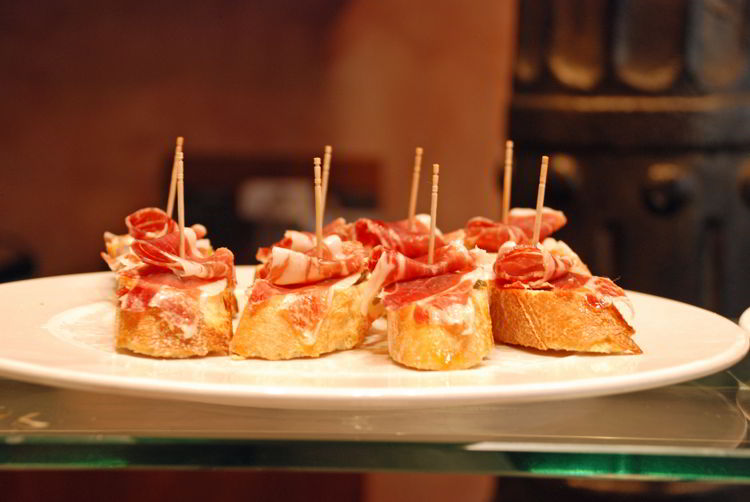 An image of a tapas plate in Spain - Trafalgar Tours Europe