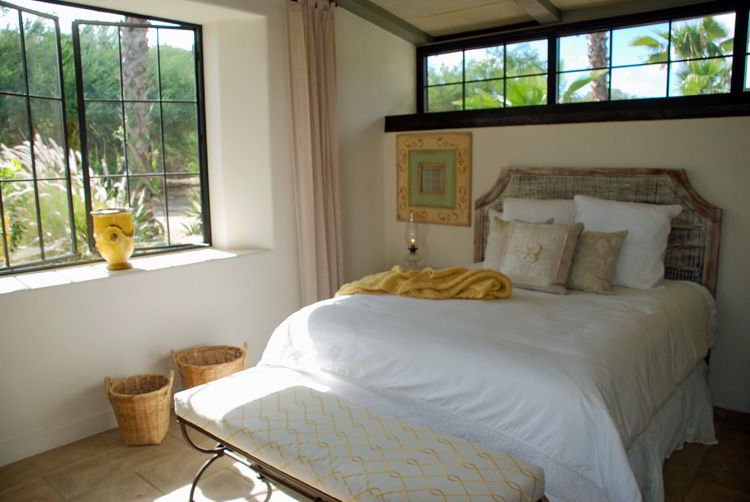 An image of the interior of a vacation home at Flora Farms in Cabo San Lucas, Mexico.