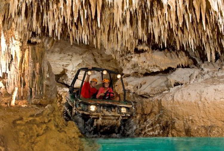 An image of the Xplor Park near Cancun, Mexico.
