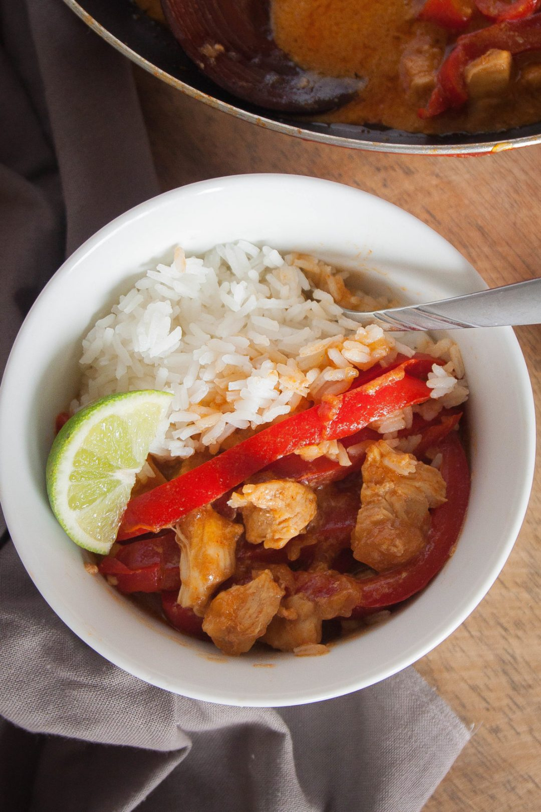 Red Thai Chicken Curry | Wanderzest