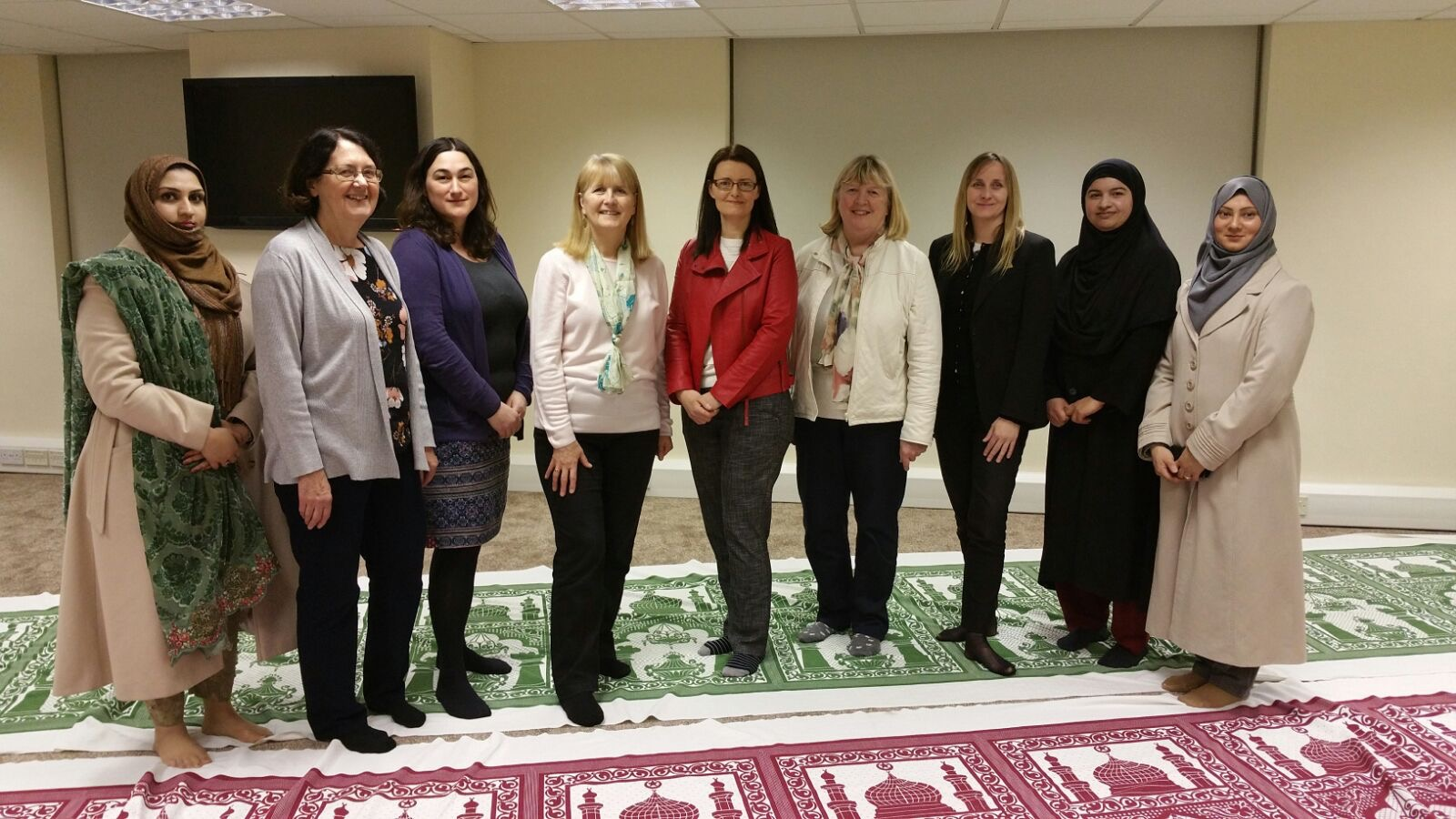 To coincide with International Women's Day, the Ahmadiyya Muslim Women's Association (AMWA) held a Peace Conference