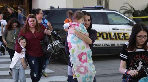 APTOPIX Shooting San Antonio Mall_235503
