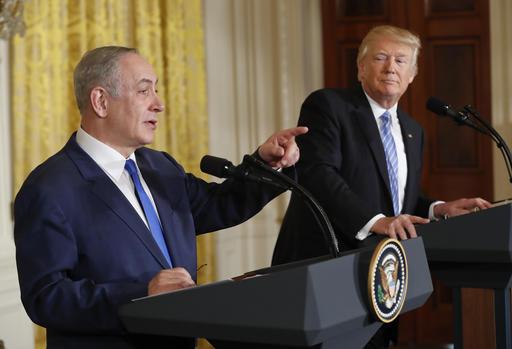 Donald Trump, Benjamin Netanyahu_241210