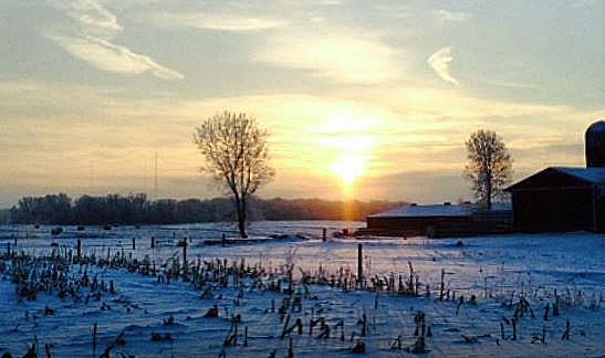 Indiana farm winter_262953