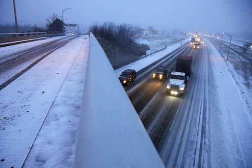 Winter weather travel advisory issued in Allen, Wabash counties