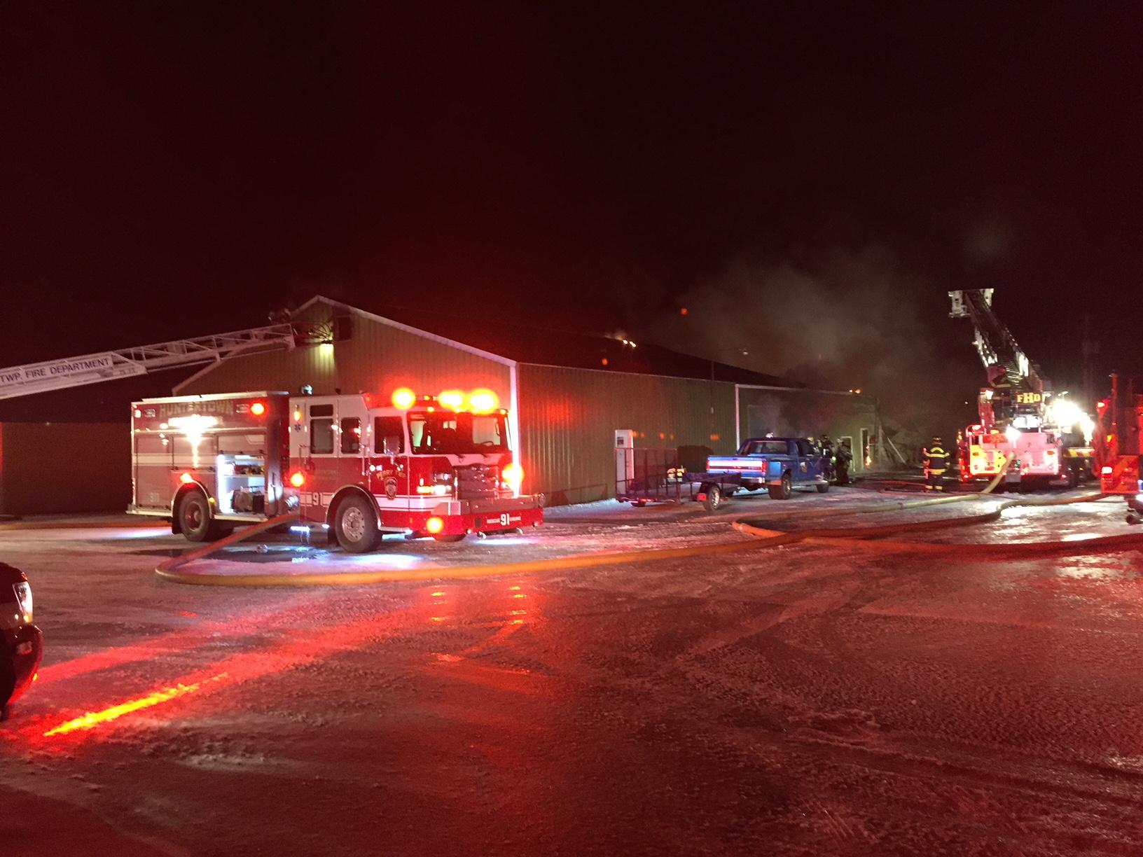Huntertown Fire_307102