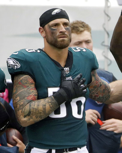 Malcolm Jenkins, Rodney McLeod, Chris Long_308575