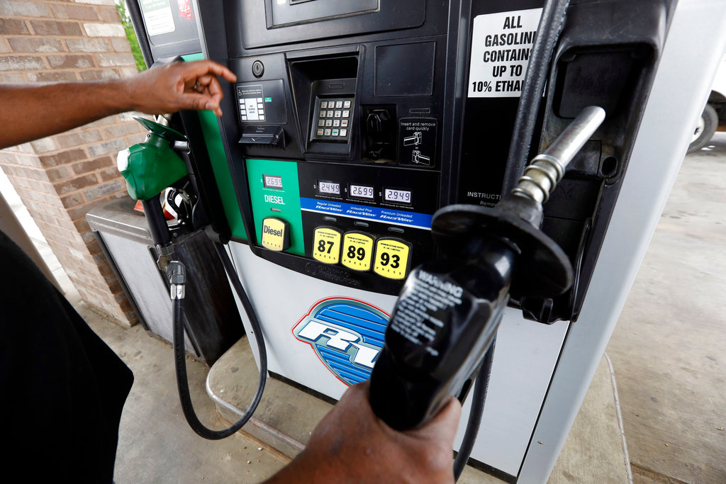 Rising Gasoline Prices pump