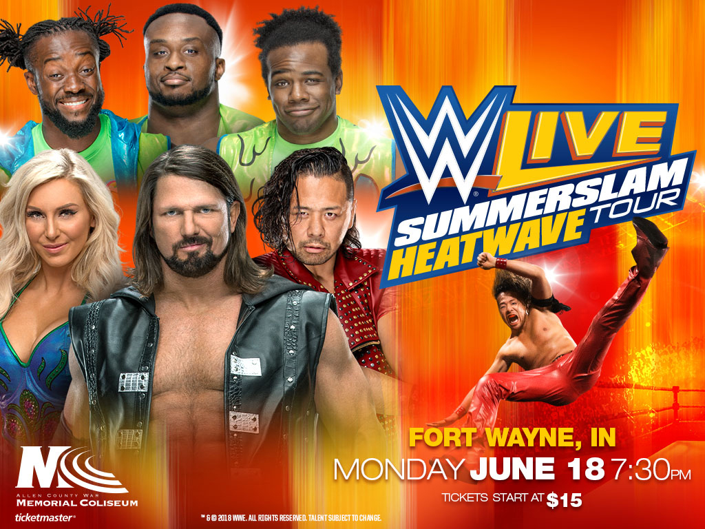 WWE's Summerslam tour to stop in Fort Wayne