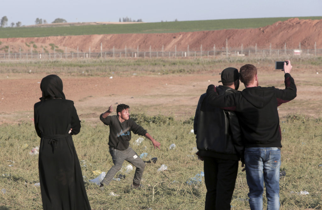 Palestinians Israel gaza violence