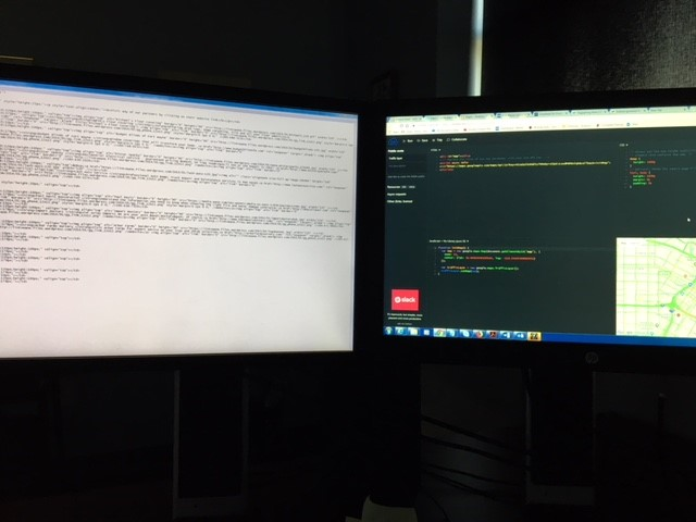 coding computer screen