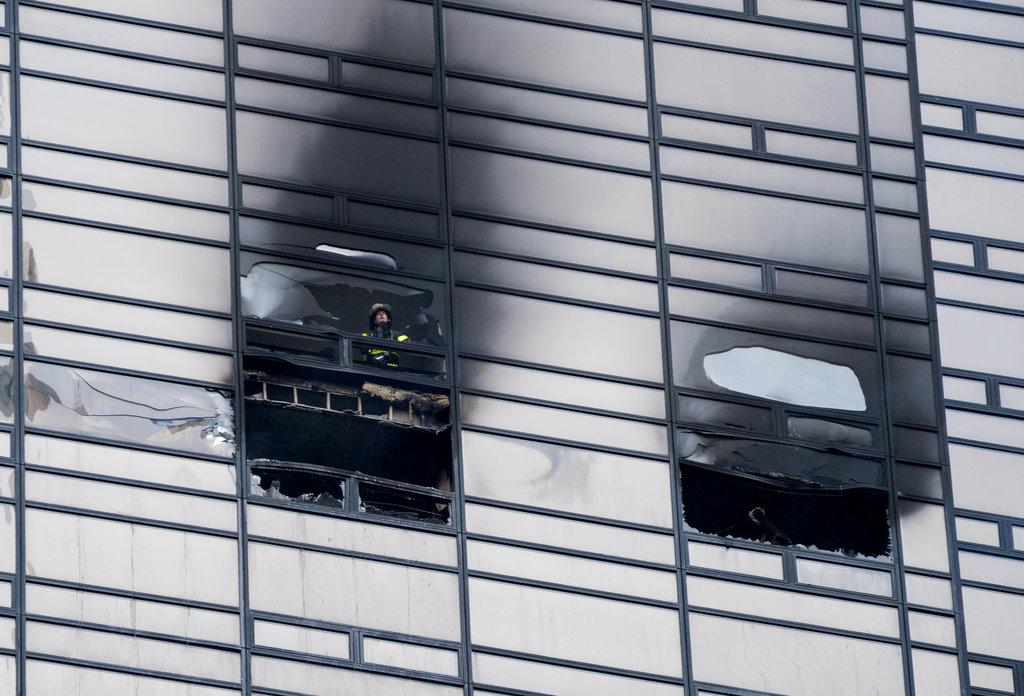 Trump Tower Fire2