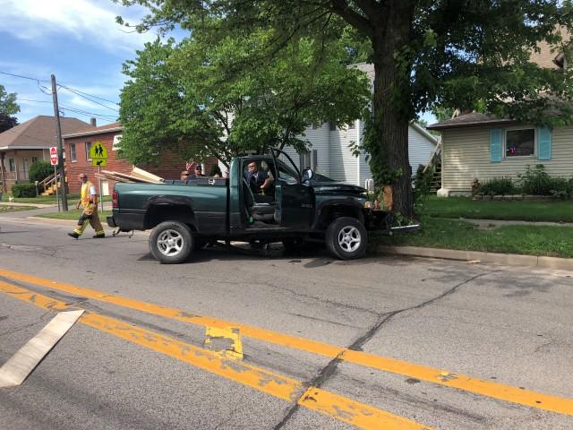 Truck crash in Kosciusko County