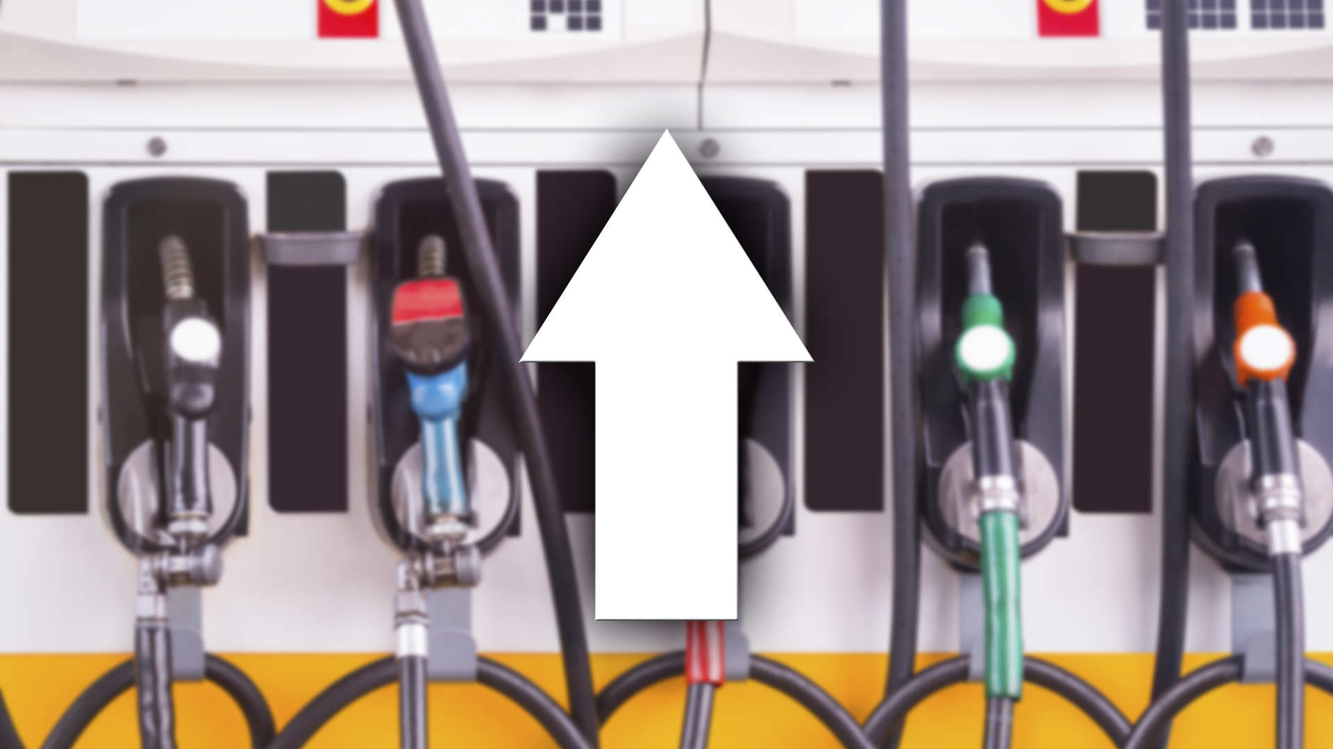 Gas Prices UP pump