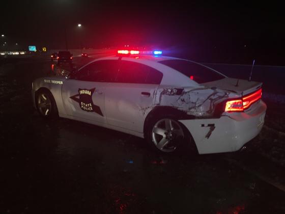 Trooper injured I-70