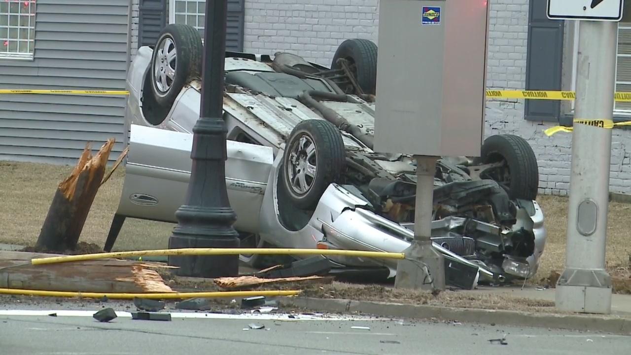 E. Washington Blvd. Crash