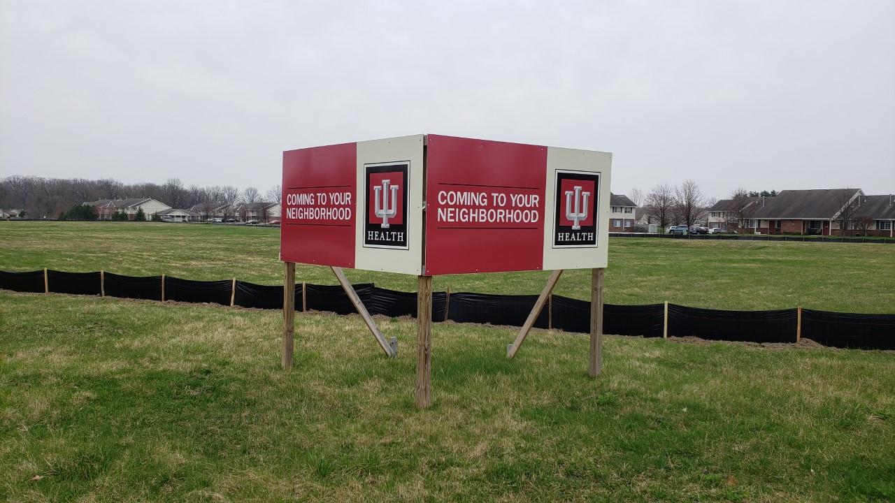 IU Health building site