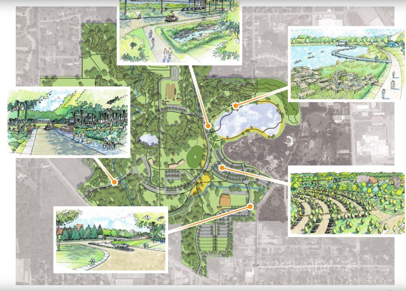 Franke Park Plan