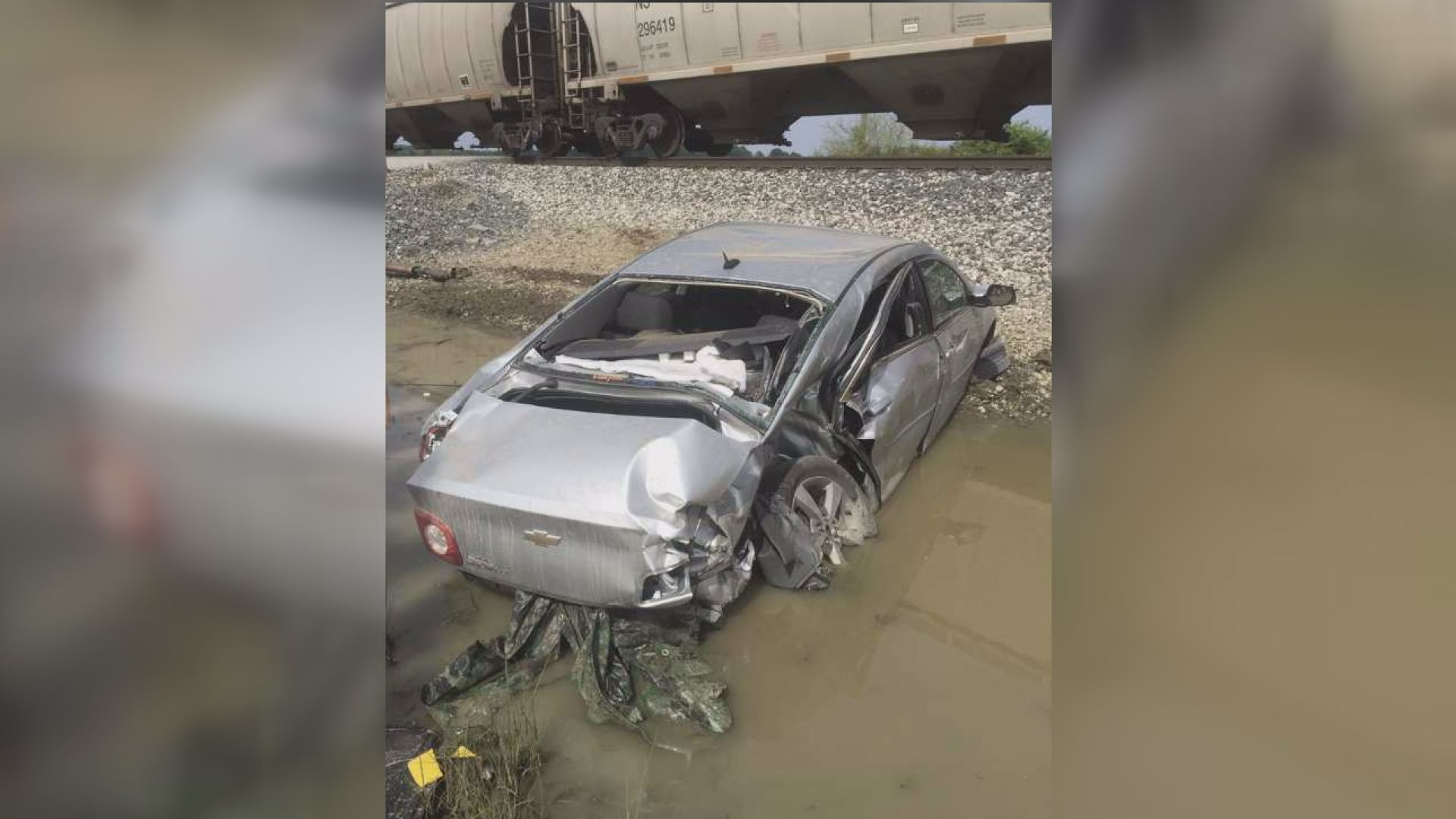 Car hit by train in Butler, no injuries | WANE