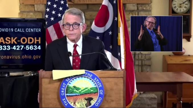 Ohio Gov. DeWine announces statewide curfew to combat COVID-19 starting Thursday