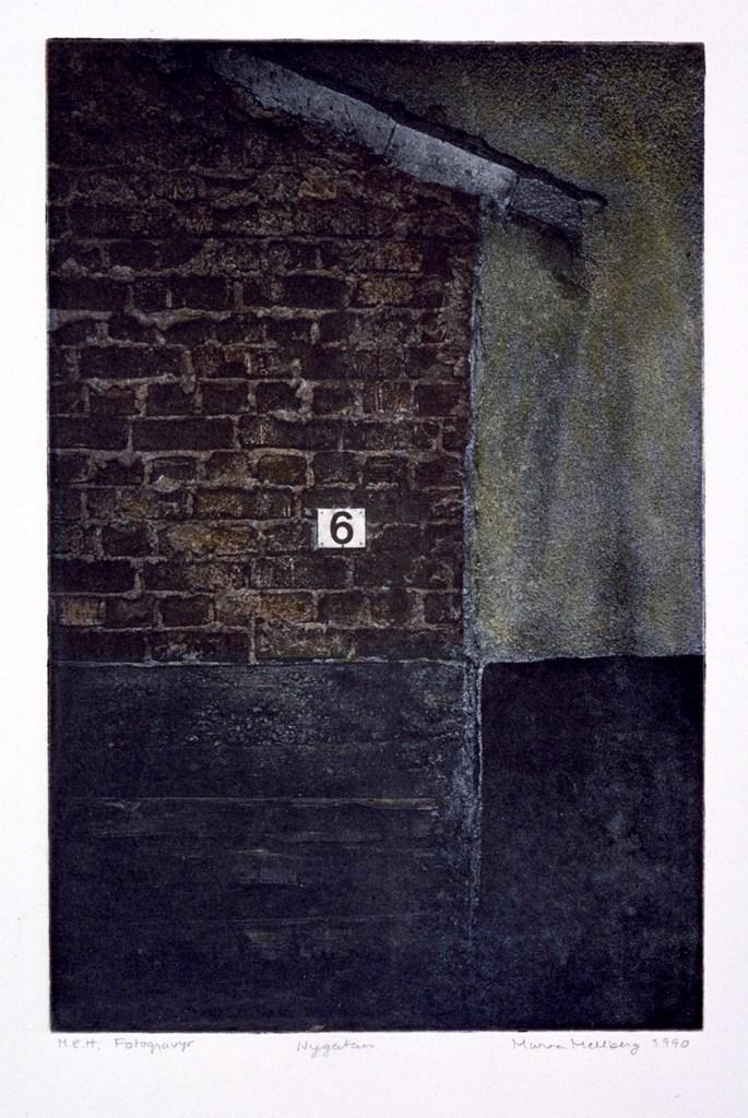 No 6, fotogravyr. ©Maria Wangi Ibohm, Maria Backström