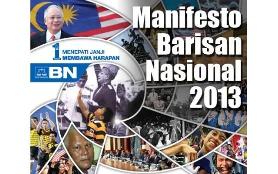 Berita Semasa :  Manifesto BN Selangor jamin teruskan air percuma 20 meter