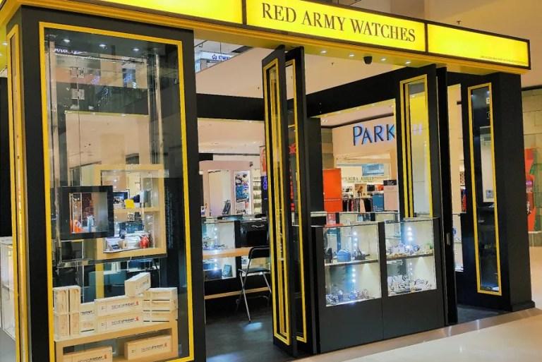 Kunjungi Butik Jam Red Army Watches di Pavilion Kuala Lumpur