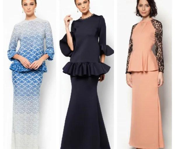Inspirasi Fesyen Baju Raya Terkini Aidilfitri 2015