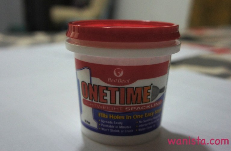 Review Produk Onetime Lightweight Spackling & Onetime Wall Repair Patch