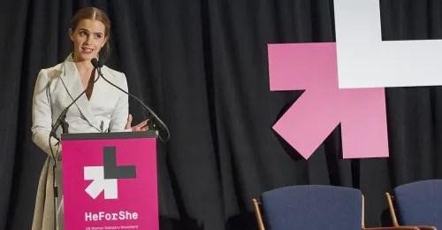 Emma Watson Bersama Pereka Fesyen Berbincang Tentang Kesaksamaan Jantina