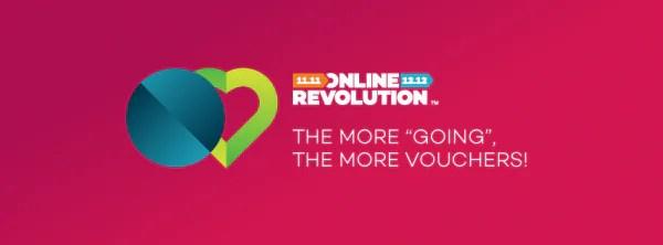 Lazada 'Online Revolution' 11 November Ini!