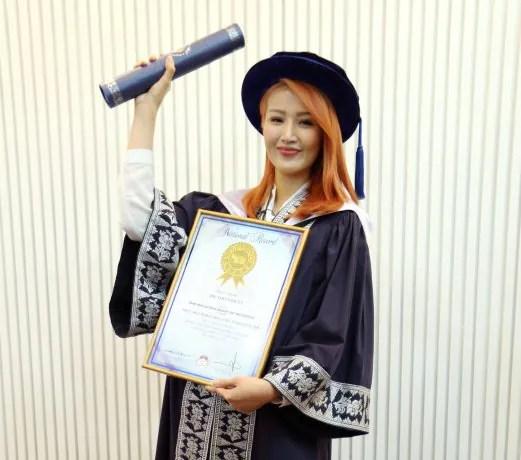 Soo Wincci Genggam Ijazah PhD Pengurusan Perniagaan