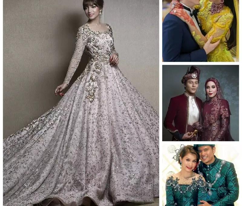 Edisi Perkahwinan 7 Warna Baju Kahwin Tak Lapuk Dek Zaman Wanista Com