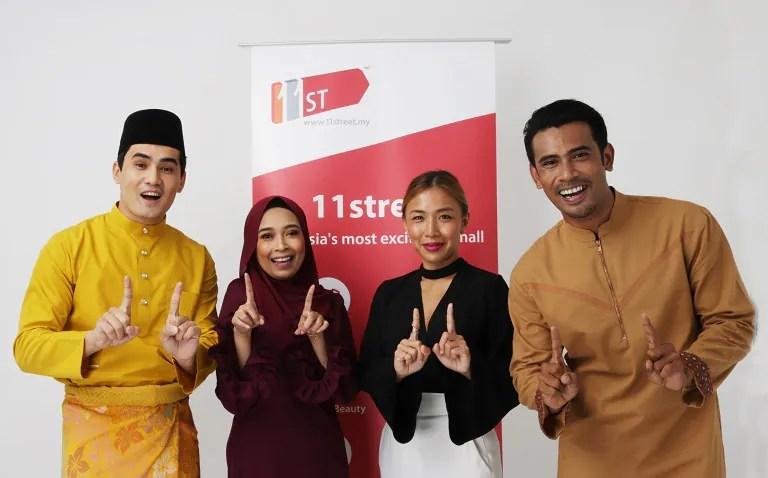 Kejutan Raya 11Street Bersama Jenama By Remy Ishak, MariBeli Butik Dan Amar Amran!