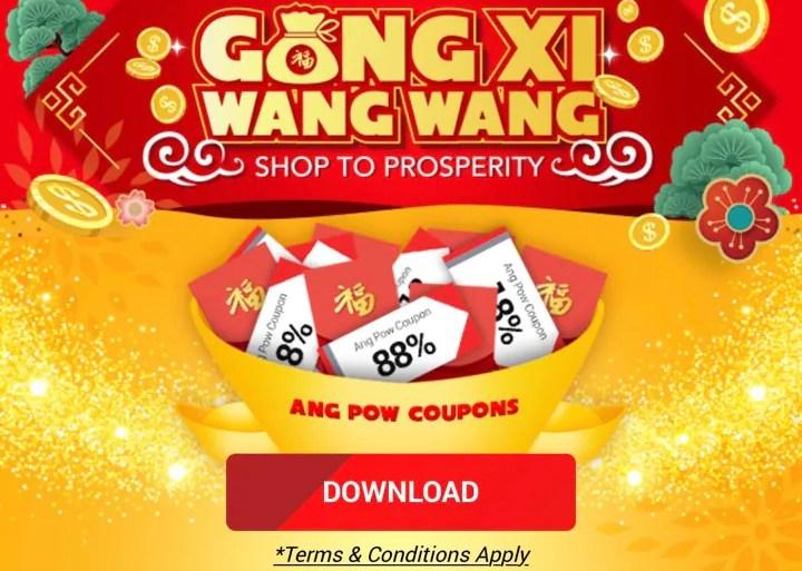 11street Beri Banyak Diskaun Dan Baucer Sempena Gong Xi Wang Wang!
