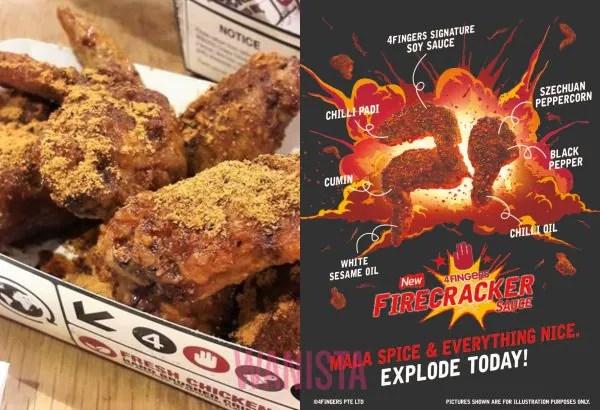 4Fingers Keluar Menu Firecracker Chicken, Pedas Sedap Tak Terhingga!