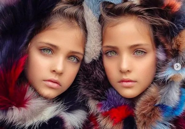 """""""Perempuan Paling Cantik Di Dunia"""" Jadi Milik Kembar Bermata Hijau Ni"""