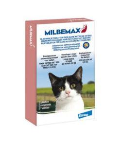 Milbemax 2 st. Ontworm Tabletten Kitten/Kat Klein