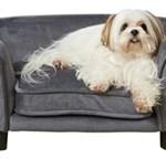 hondenbank enchanted grijs