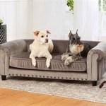 hondenbank enchanted manchester grijs