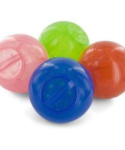 Petsafe Kattenvoerbal Slimcat Groen, Blauw, Oranje en Roze