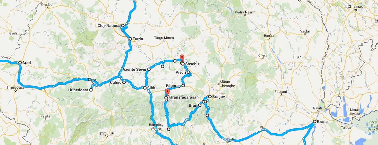 Roadtrip around Romania