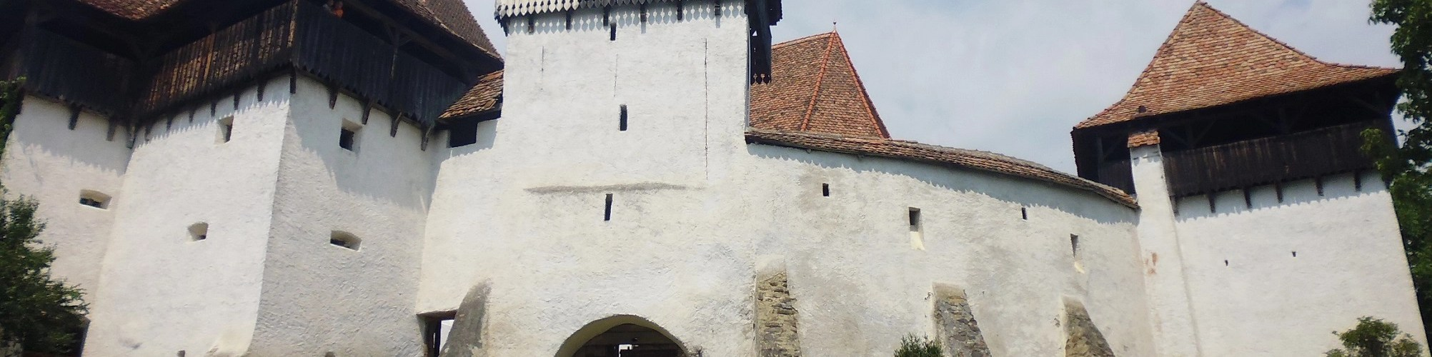 Viscri fortified church